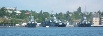 Oil Majors Head Lower as Russia Moves to Secure Sevastopol Naval Base